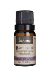 Óleo Essencial Patchoulli - Via Aroma  10ml