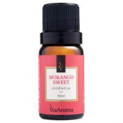 Essência De  Morango  10ml - Via Aroma