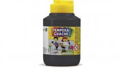 Tempera Guache 250ml Preto Acrilex