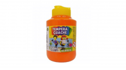 Tempera Guache 250ml  Laranja  Acrilex