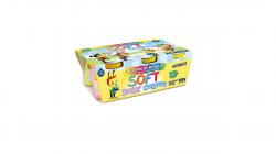 Massinha de Modelar Soft Baby 150g  06 Cores - Acrilex