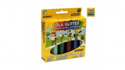 Cola Glitter Acrilex 6 Potes 23G