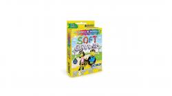Massinha de Modelar Soft Glitter Acrilex 6 Cores 90g