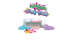 Slimes Kimeleka Candy Colors - Lavável - Art Kits - Kit 6 Un