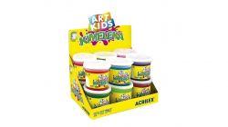 Slime Kimeleka Art Kids Pote 180G Kit Com 12 Unidades