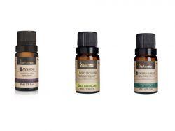 Kit 3 Oleo Essencial Lavanda-Limão Siciliano-Eucaliptus