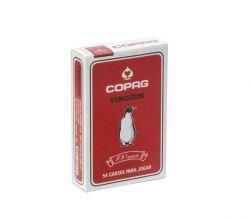 Baralho Pinguim - Vermelho